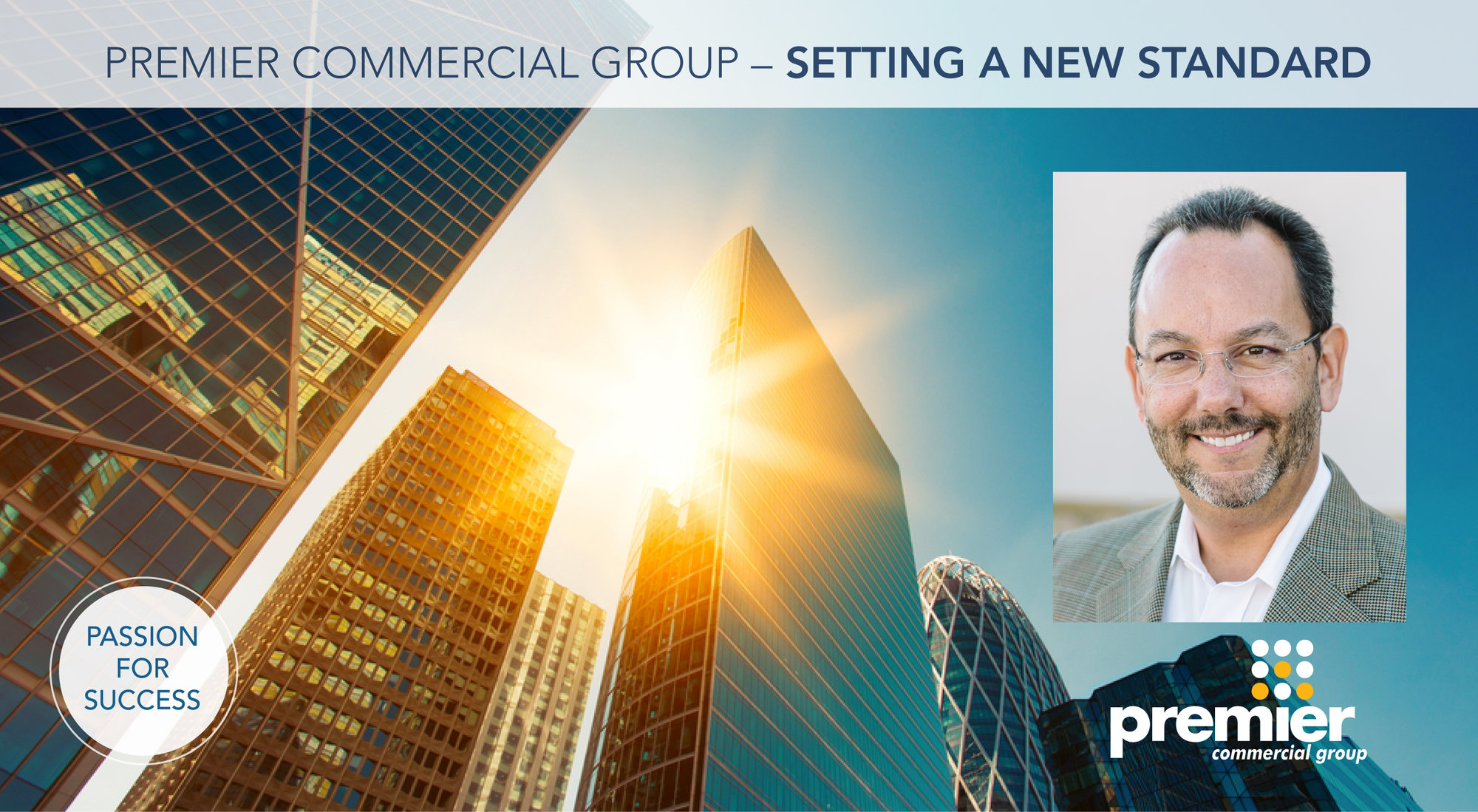 Premier Commercial Group Setting a New Standard for Business Real Estate March 2020 Header