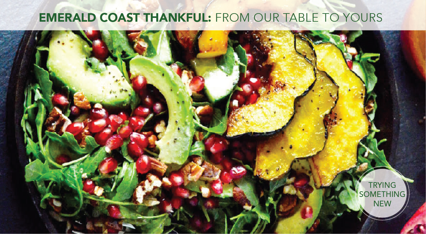 Emerald Coast Thankful: From Our Table to Yours oct 2019